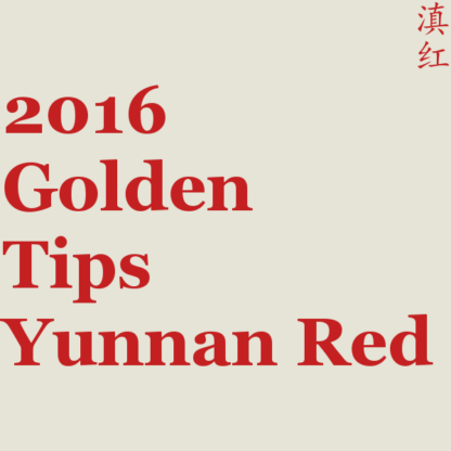 2016 Golden Tips Yunnan Red