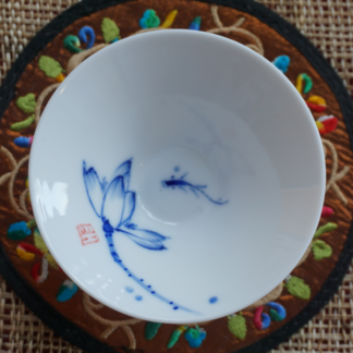Lotus & Fish Douli Teacup