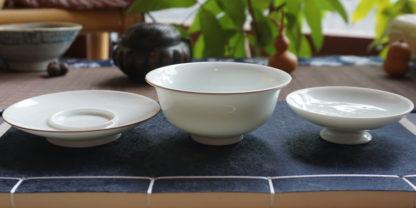 Superior White Porcelain Gaiwan