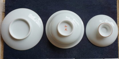 Superior White Porcelain Gaiwan